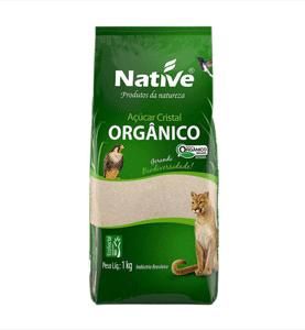 Açúcar Cristal - Orgânico - Native