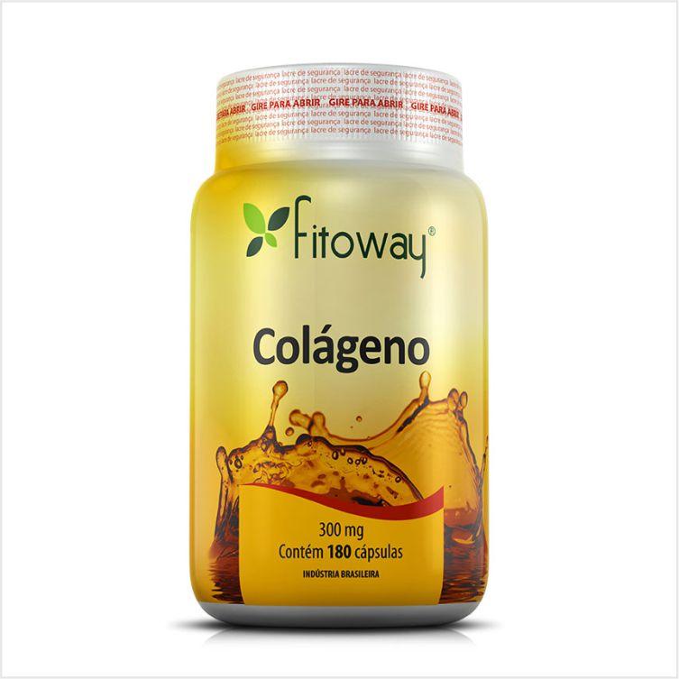 Colágeno - Fitoway - 180 cápsulas