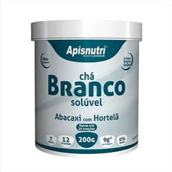 Chá Branco Solúvel - Apisnutri - 200g
