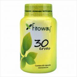30 ervas - Fitoway - 60 cápsulas