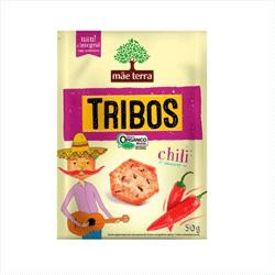 Biscoito Tribos Orgânico - Chili Suave - Mãe Terra - 50g