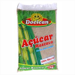 Açúcar Mascavo - Docican - 1Kg