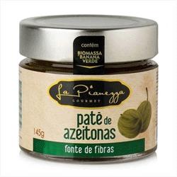 Patê de Biomassa Sabor Azeitona - La Pianezza - 145g