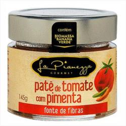 Patê de Biomassa Sabor Pimenta e Tomate - La Pianezza - 145g