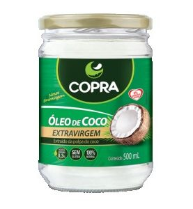 Óleo de Coco Orgânico - Copra - 500g