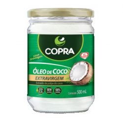 Óleo de Coco Orgânico – Copra – 500g