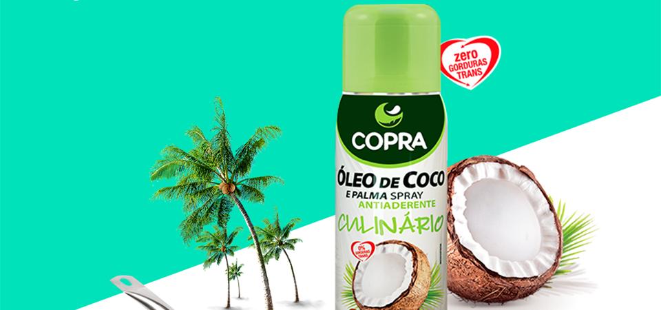 Óleo de Coco em Spray – Copra – Culinária