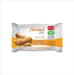 Paçoquinha Zero Açúcar - Flormel - 25g