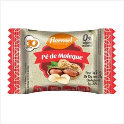 Pé de Moleque Zero Açúcar - Flormel - 25g