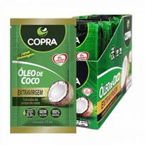 Óleo de Coco Extra Virgem Sache 15ml - Copra