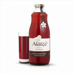 Suco de Uva Rosê Integral - Aliança da Terra - 1L