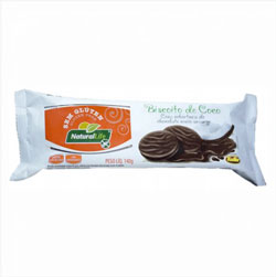 Biscoito de Coco com Cobertura de Chocolate - Kodilar - 140g