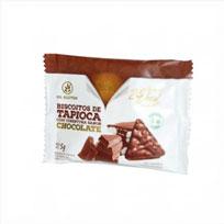 Biscoito de Tapioca com Cobertura de Chocolate - Fhom - 5g