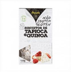 Biscoito de Tapioca e Quinoa - Fhom - 50g