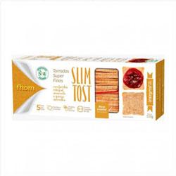 Torradas Super Finas Slim Tost Integral - Fhom - 110g