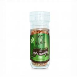 Sal Rosa do Himalaia - Grosso - Limão e Ervas Finas - Com Moedor - Empório Nuts - 100g