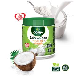 Leite de Coco em Pó - Sem Lactose - Copra - 200g
