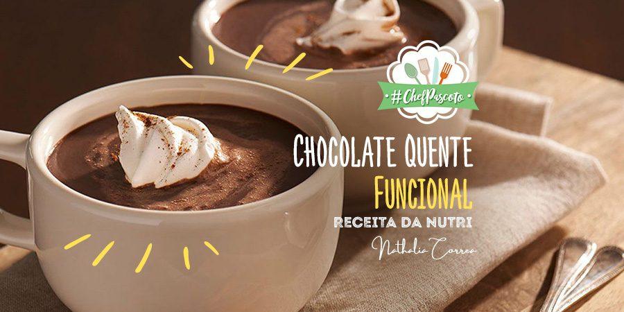 CHOCOLATE QUENTE FUNCIONAL – RECEITA DA NUTRI NATHALIA CORREA